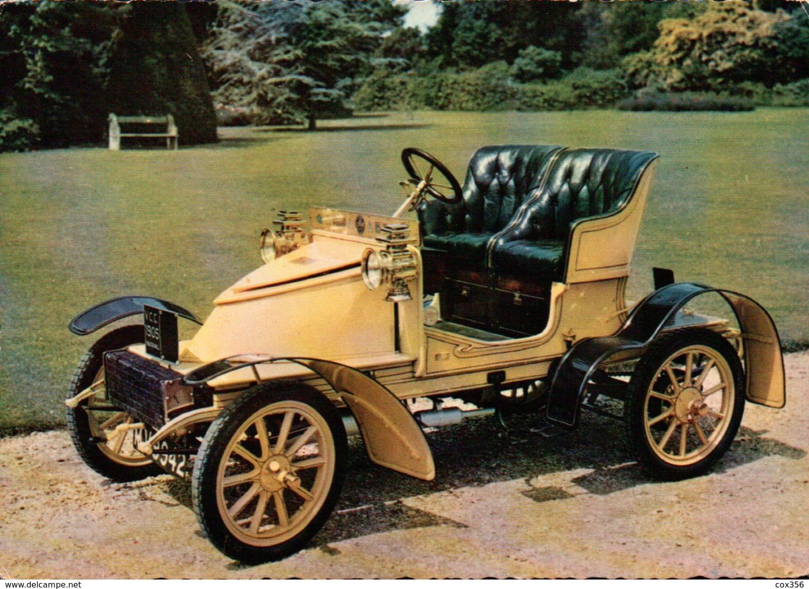 CPSM  AUTOMOBILES VAUXHALL 1905 - Taxi & Carrozzelle