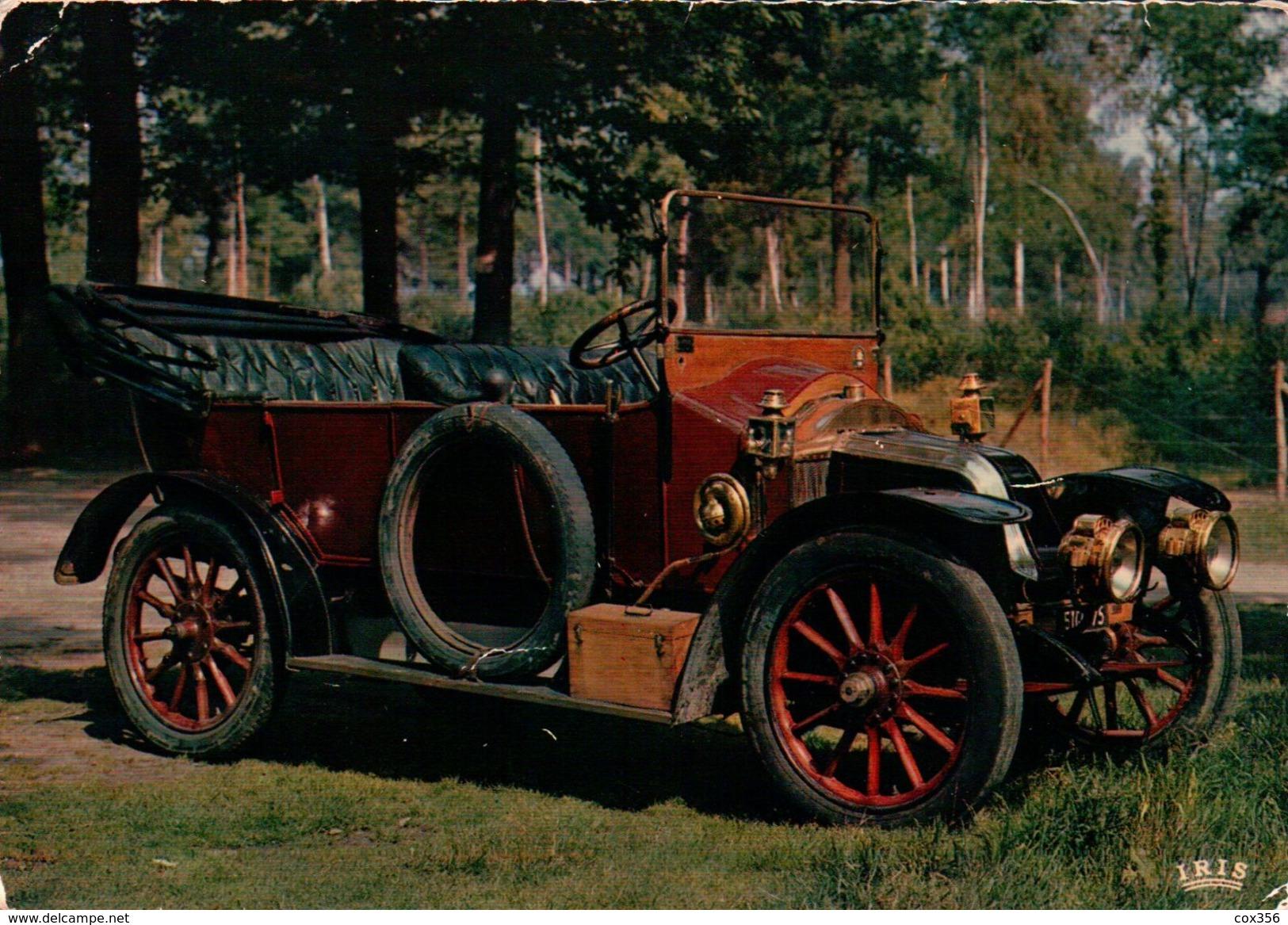 CPSM  AUTOMOBILES RENAULT 1908 - Taxi & Carrozzelle