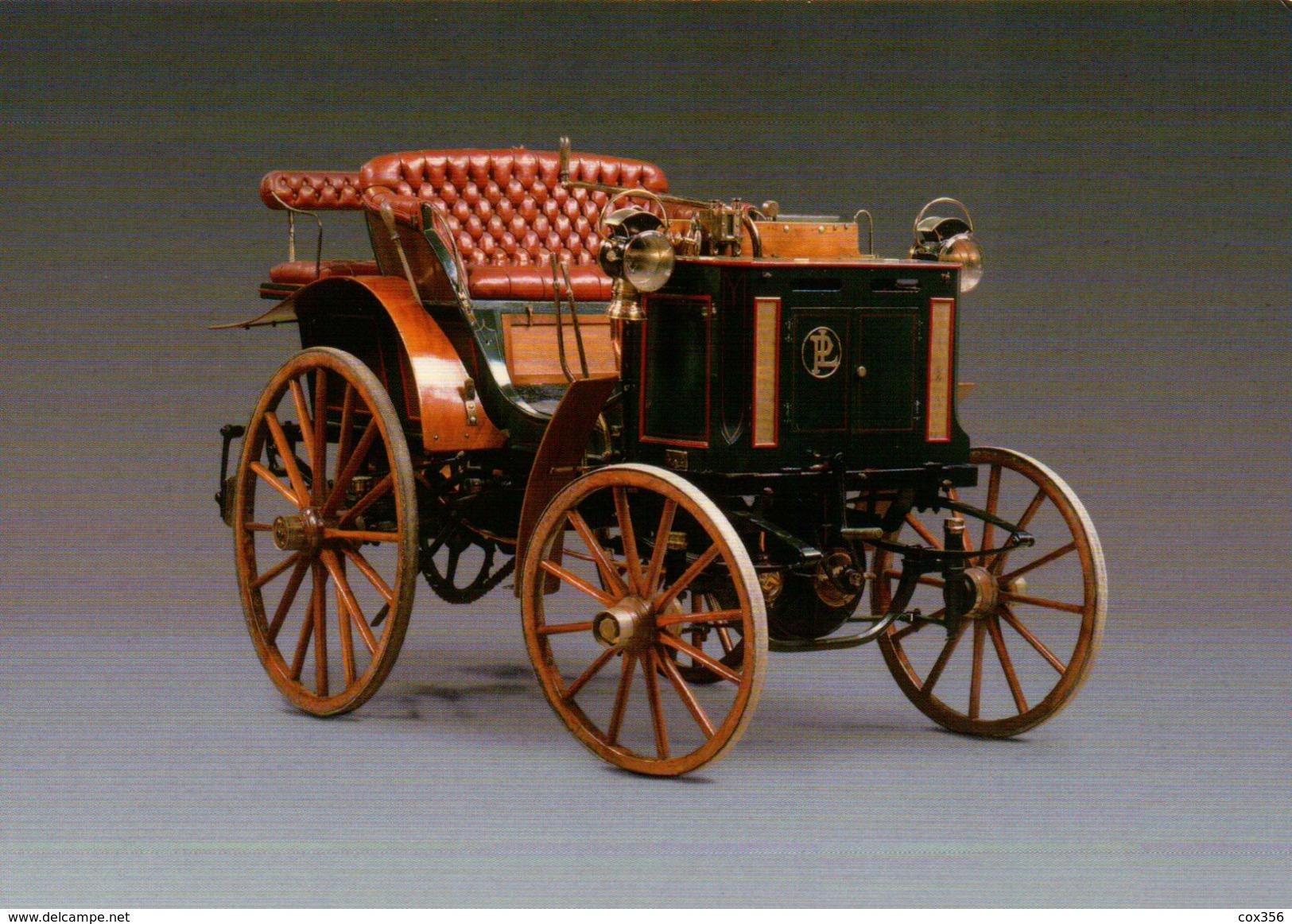 CPSM  AUTOMOBILES PANHARD LEVASSOR PHATEON TONNEAU 1894 - Taxi & Carrozzelle