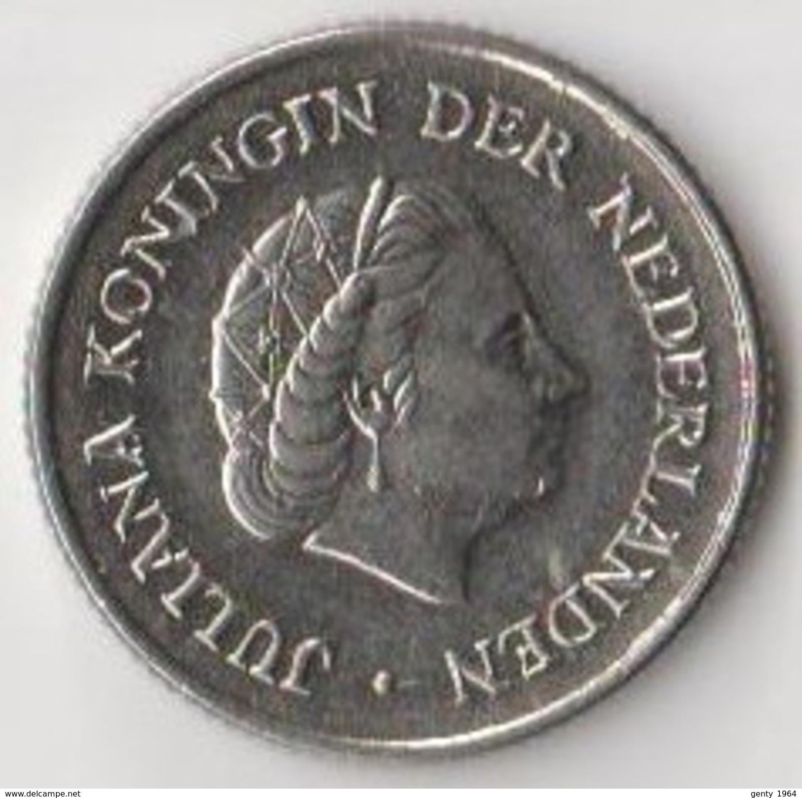 Lot De 7 Pièces De Monnaie Pays Bas 1951 - 1992 Juliana - Béatrix - Pays-Bas