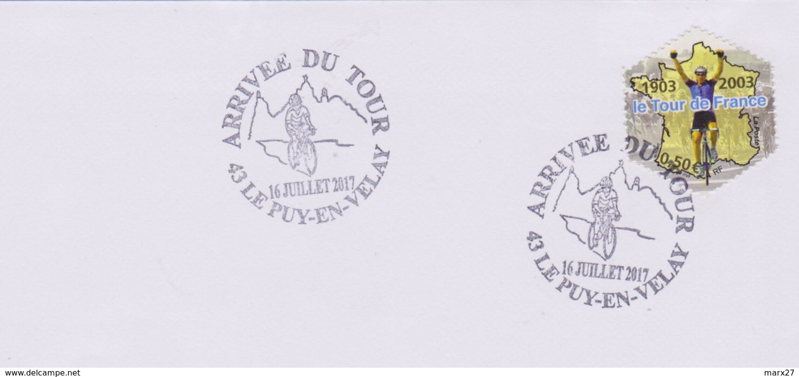 Cyclisme : Le Puy En Velay (Haute Loire) Arrivée Du Tour (16 Juillet 2017) - Radsport