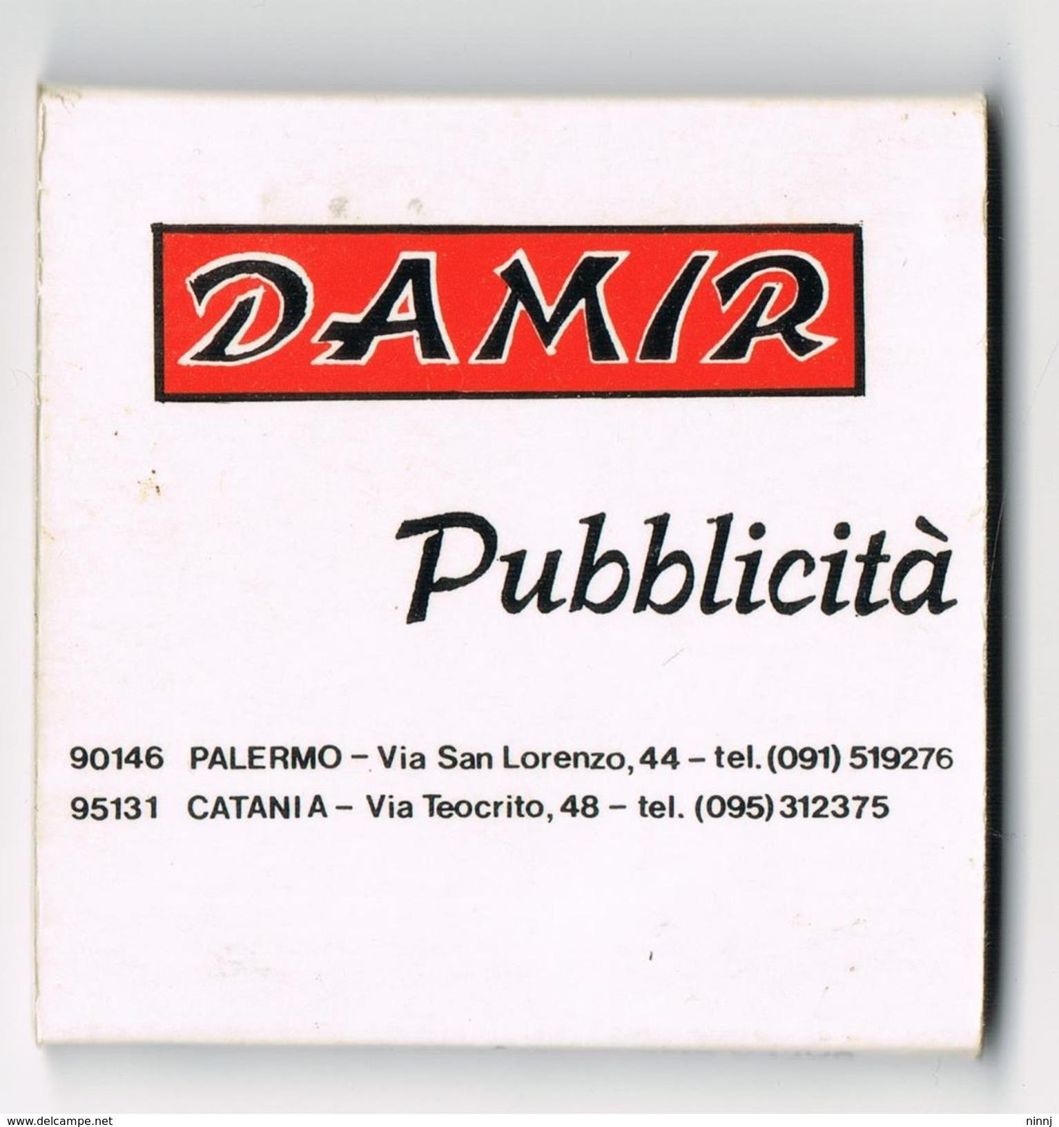 Collezionista Di Scatole Fiammiferi italia - fiammiferi pubblicitari - damir - saffa stab. di magenta minerva