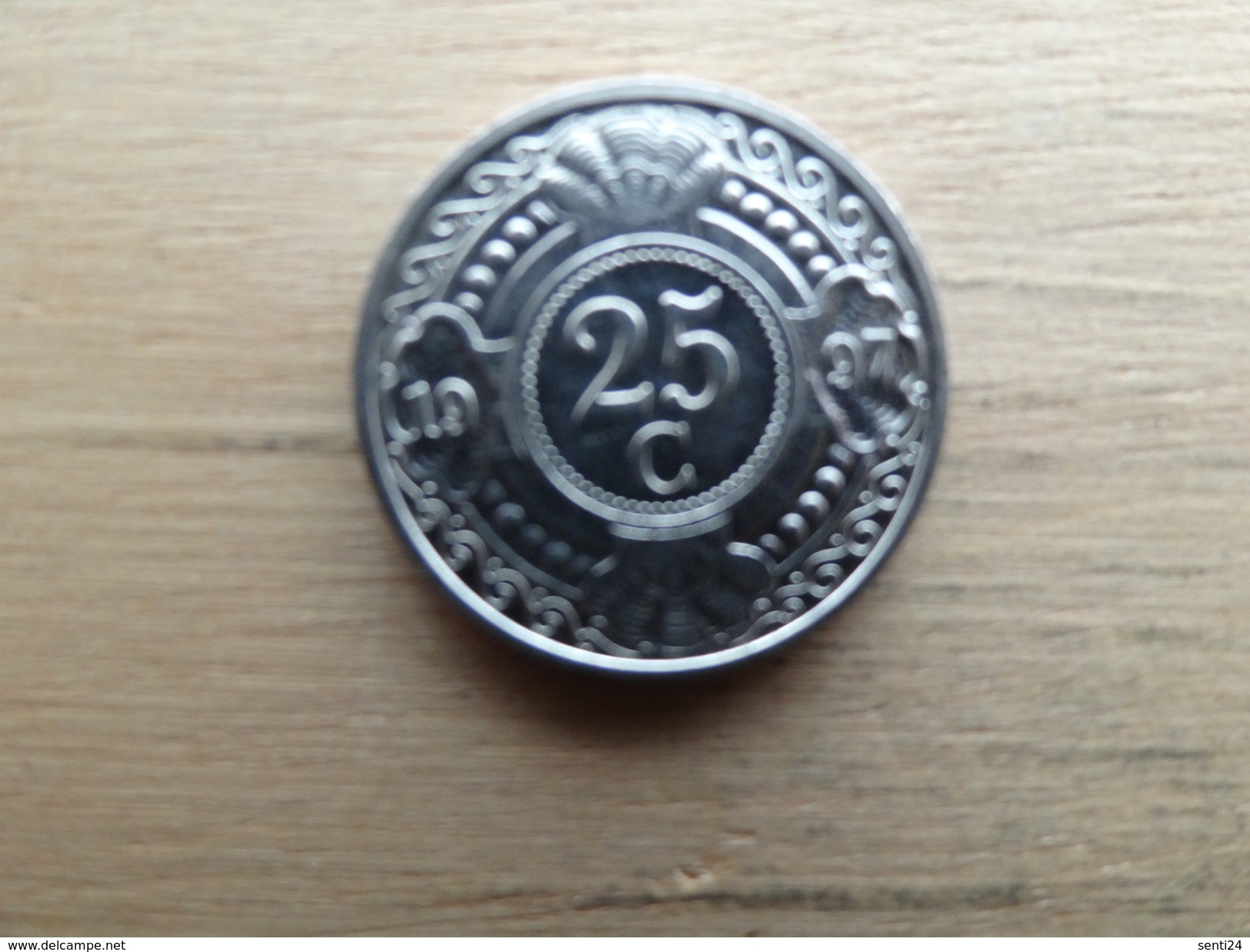 Antilles  Neerlandaises    25  Cents  1997  Km 35 - Antillen (Niederländische)