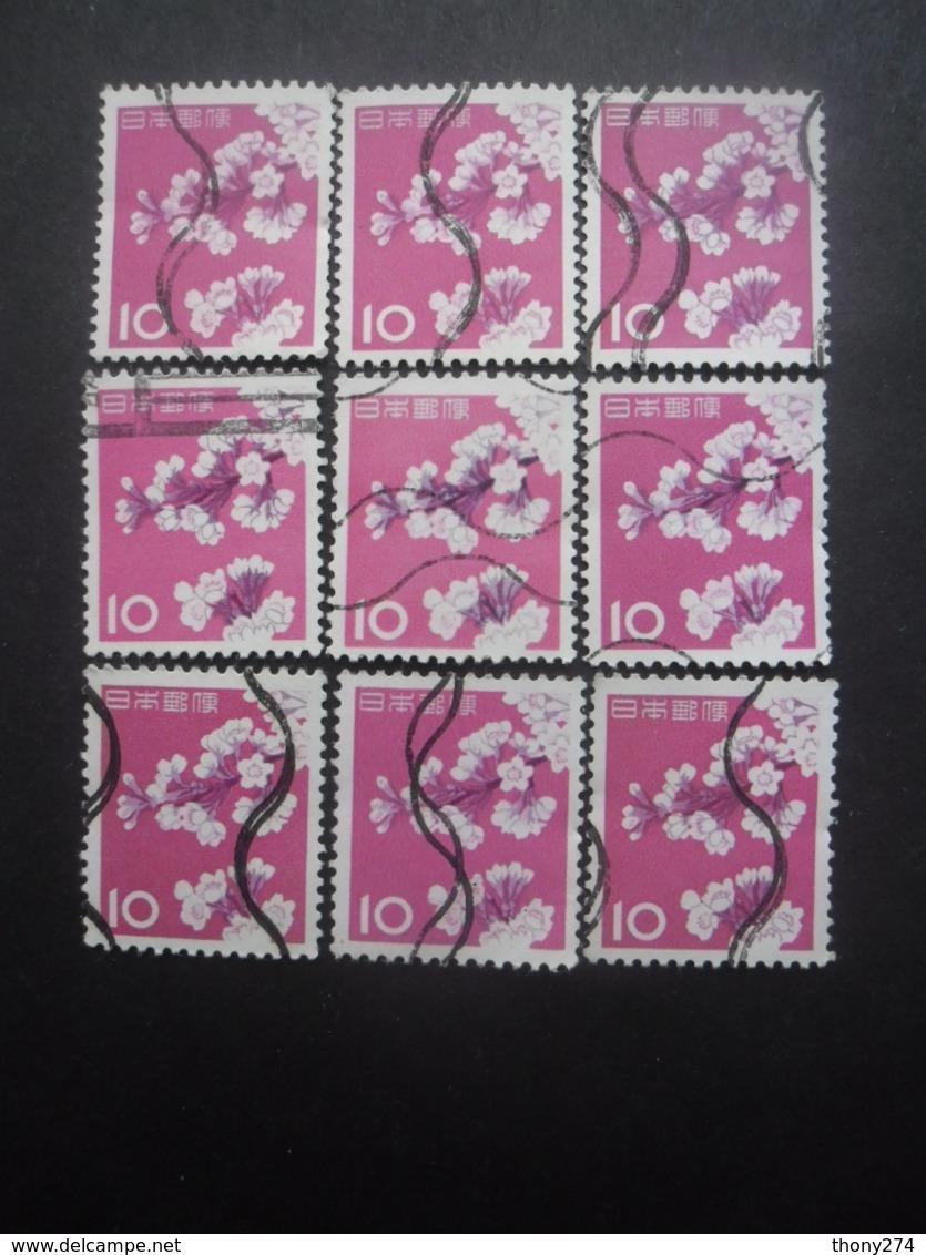 JAPON N°677 X 9 Oblitéré - Japon