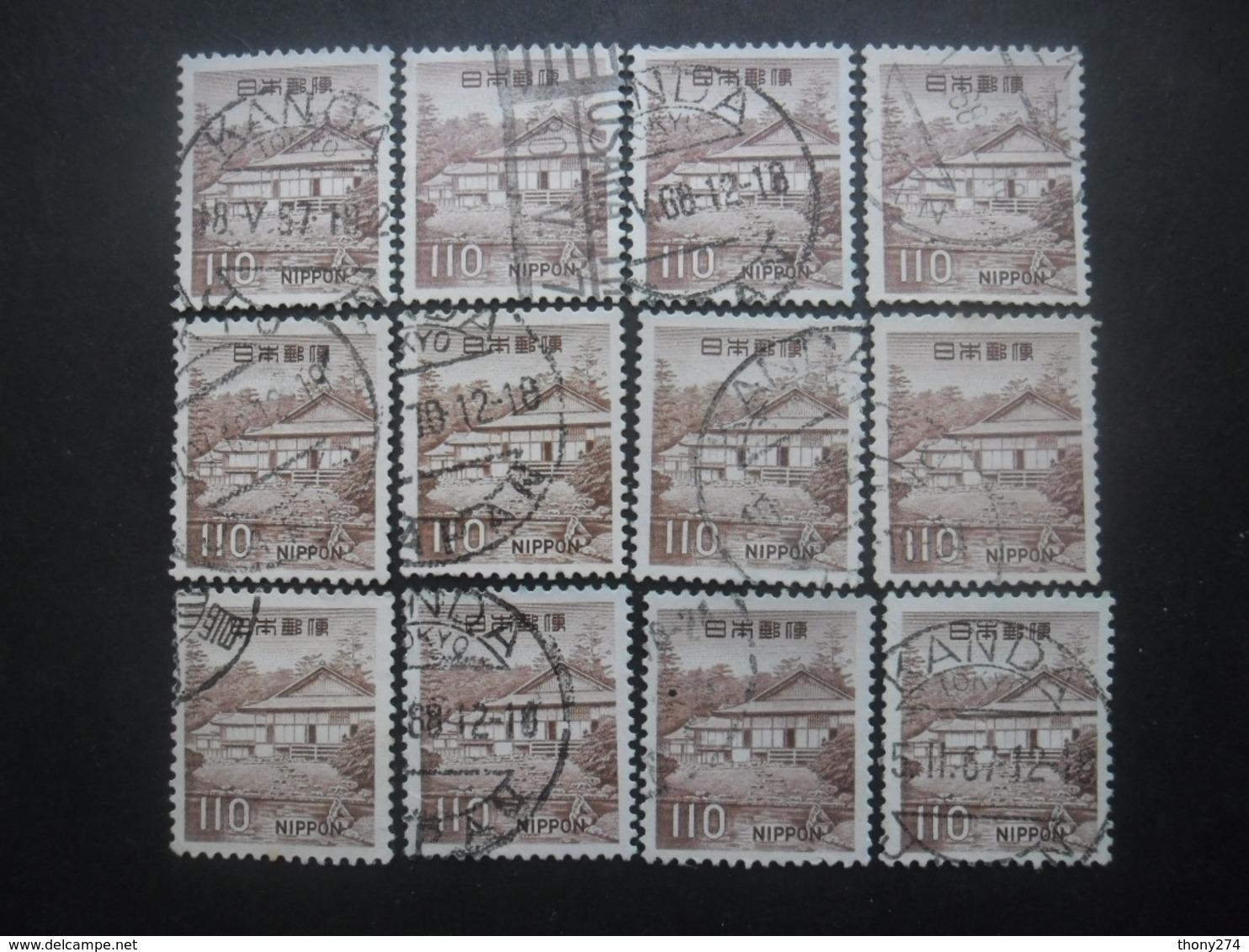 JAPON N°845 X 12 Oblitéré - Collections, Lots & Séries