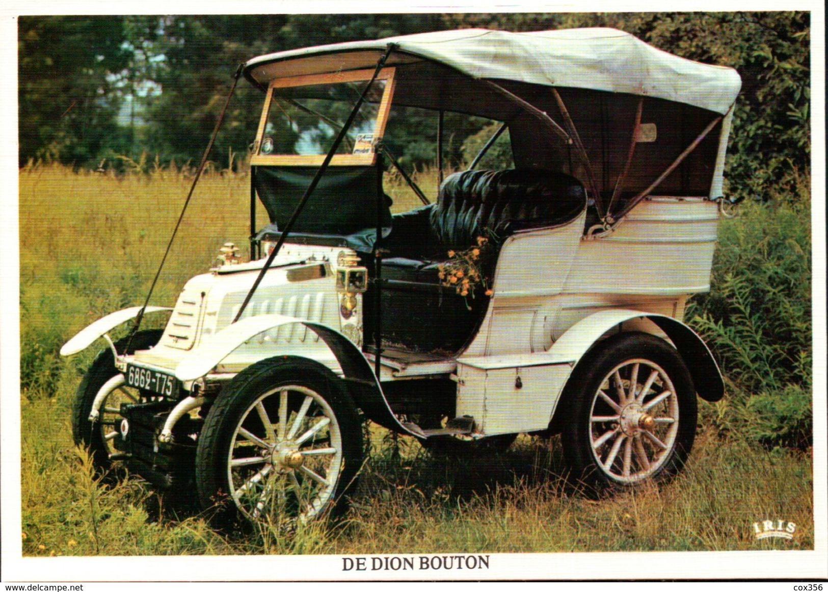 CPSM  AUTOMOBILES DE DION BOUTON - Taxi & Carrozzelle