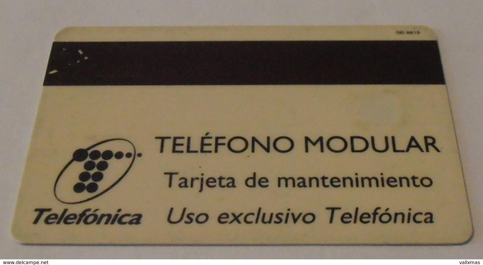Tarjeta ESPAÑA, Prueba De Telefónica Nº 8615 - España