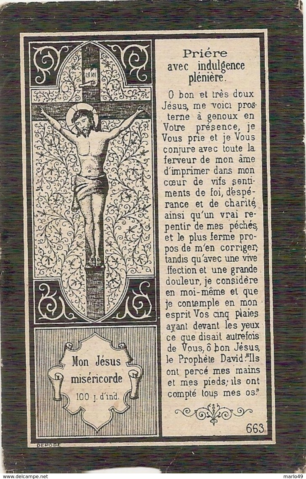 DP. FLORENT BODAR + ENGIS 1896 - 52 ANS - INSPECTEUR - Religion & Esotérisme