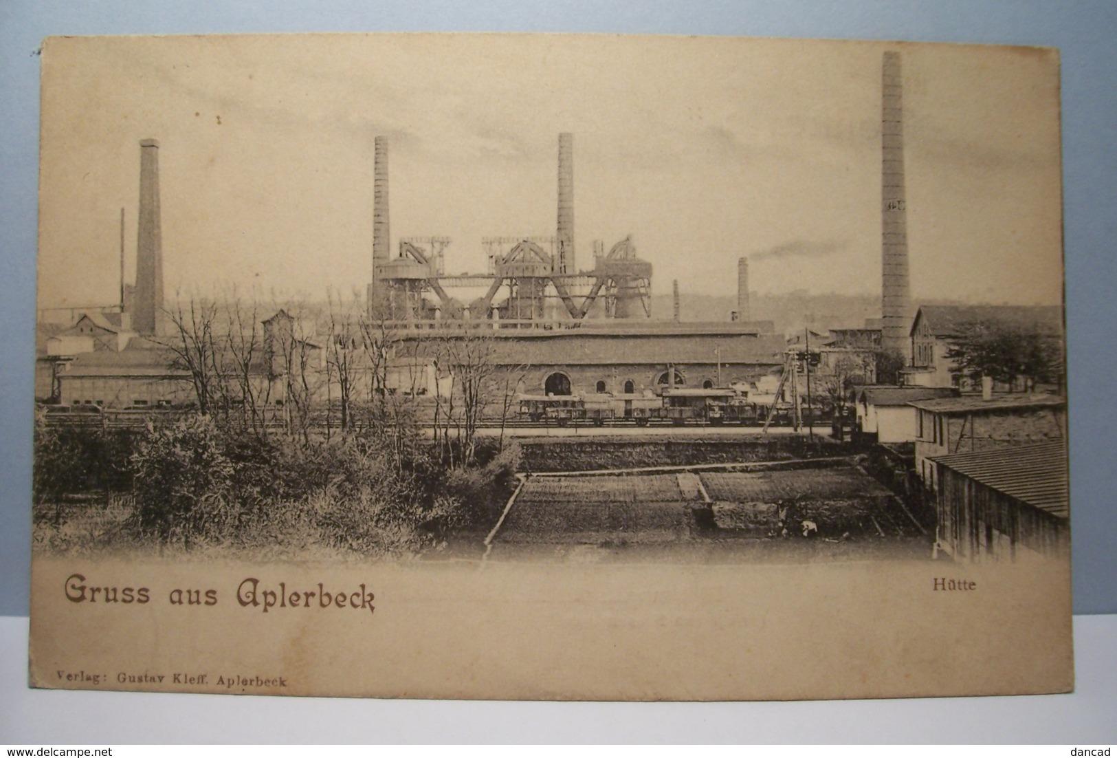 GRUSS   Aus  APLERBECK   - Hutte - Deutschland