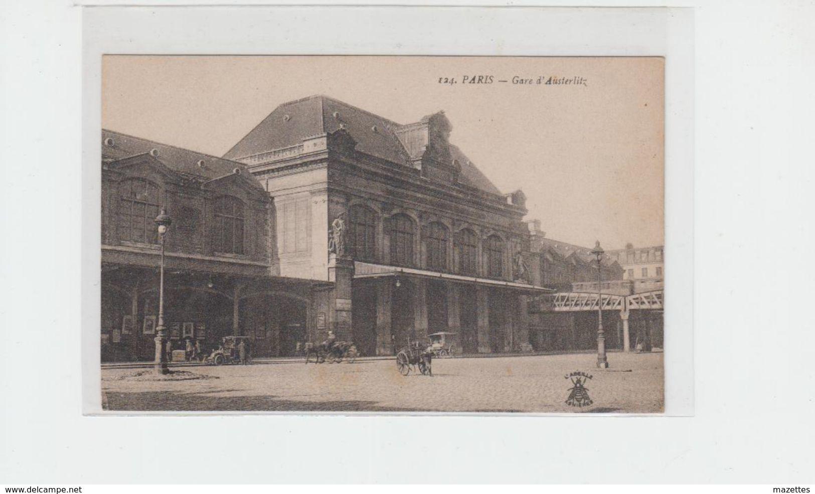 75 PARIS GARE D'AUSTERLITZ - Metro, Stations
