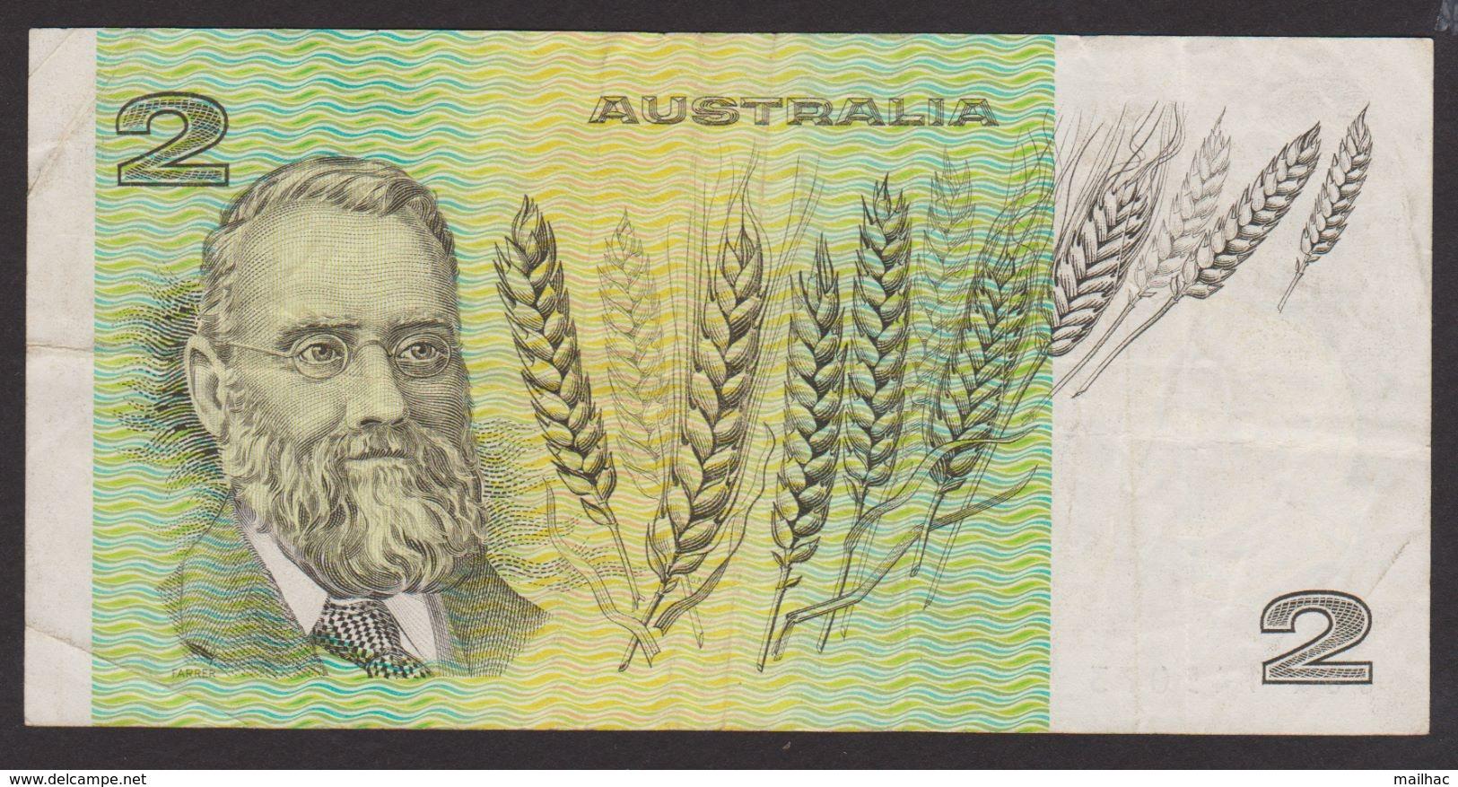 AUSTRALIE - 2 Dollars - JJQ 145073 - Australia