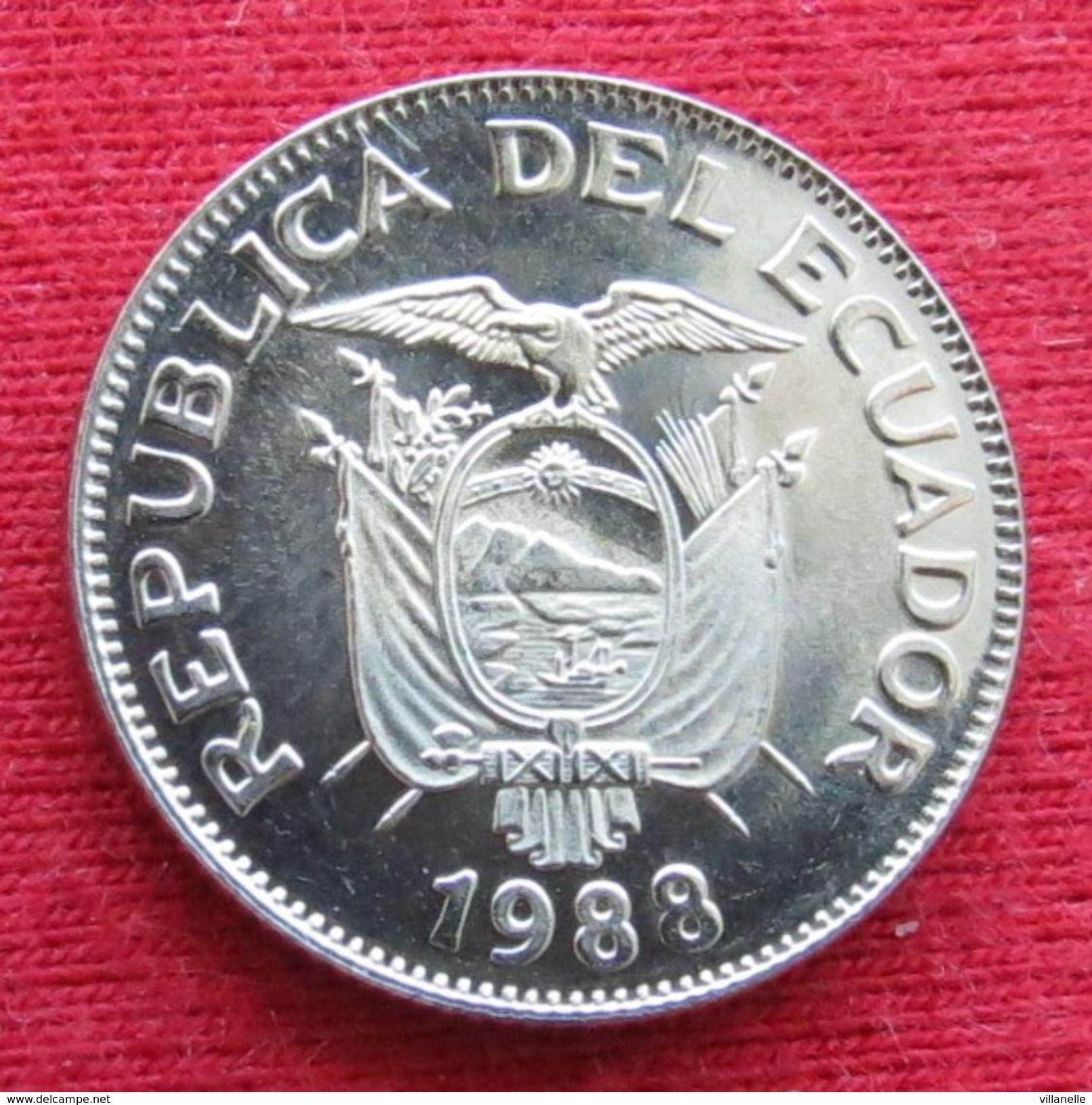 Ecuador 1 Sucre 1988 Equador Equateur UNCºº - Ecuador