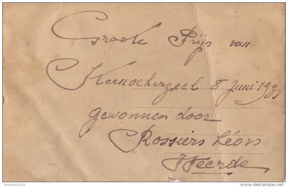 STEENOKKERZEEL : Groote Prijs 8 Juin 1931 - Belgique