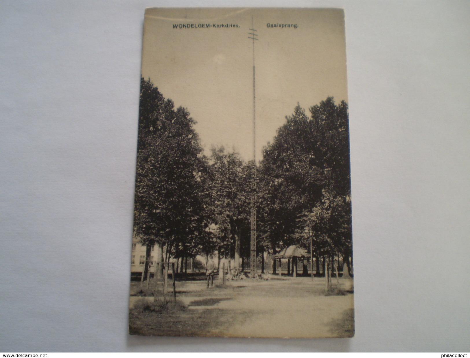 Wondelgem (Gent) Gaaisprang // 19?? Zeldzaam - Autres