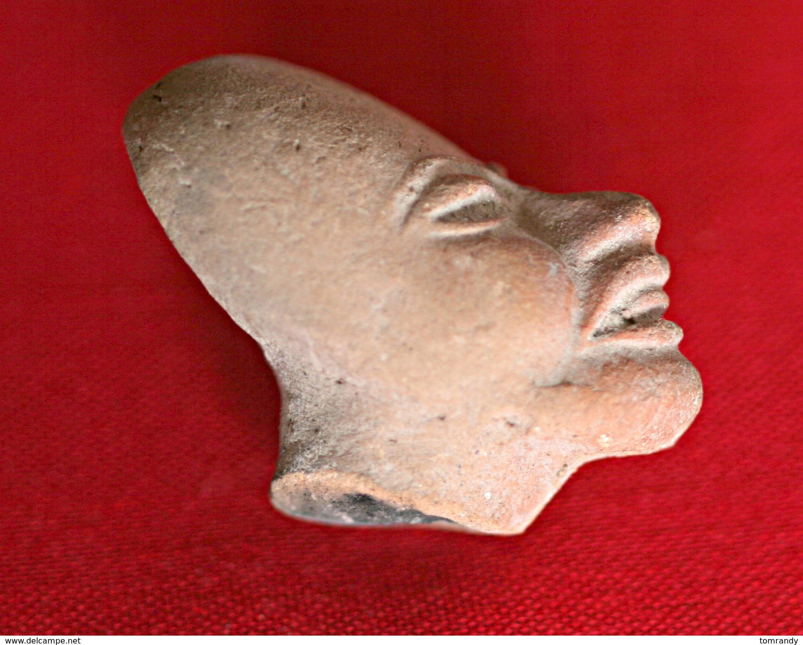 Prä-historischer Maya-Kopf Aus Mexiko - Archäologie