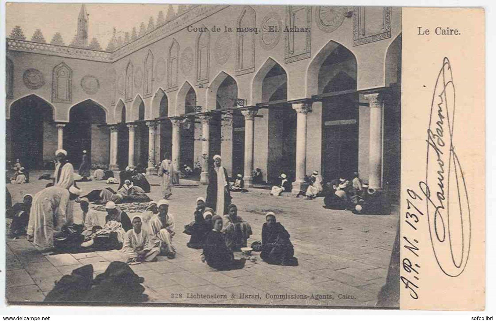 LE CAIRE -- Cour De La Mosq. El Azhar - El Cairo