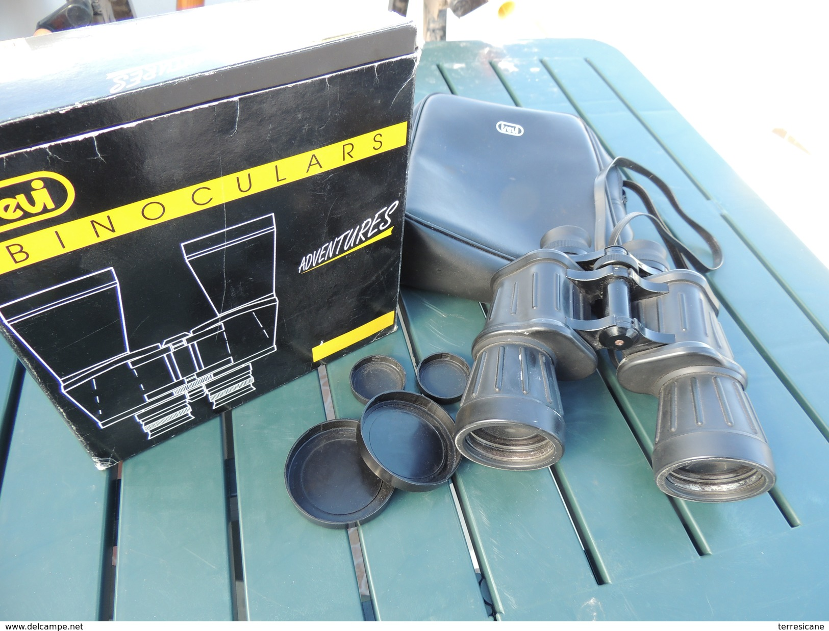 X Binocolo 7x50 TREVI Gommato Uso Marino / Astronomia + Copriottiche + Borsa - Fotografie En Filmapparatuur