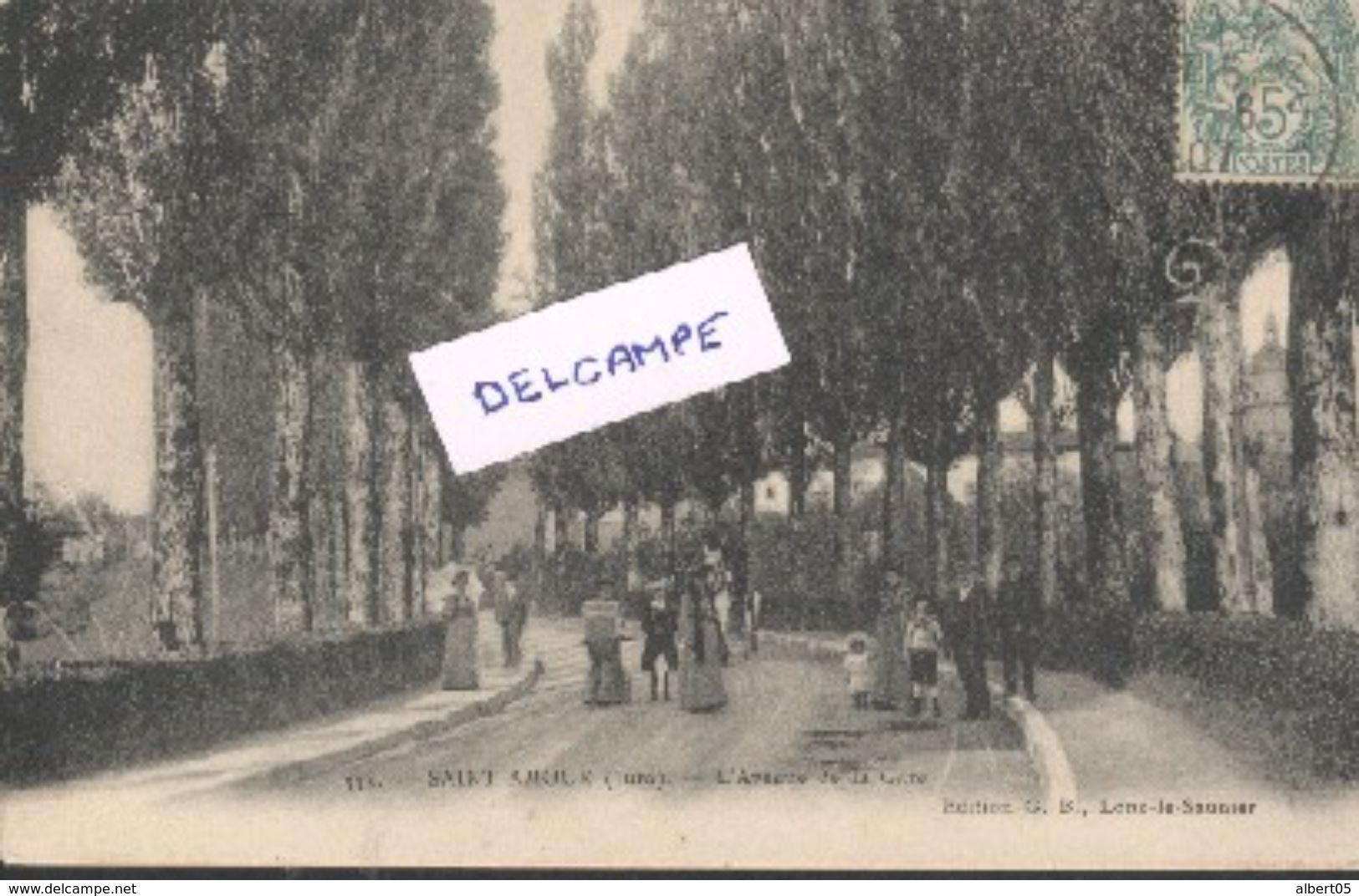 39 - Saint Amour - Avenue De La Gare - Autres Communes