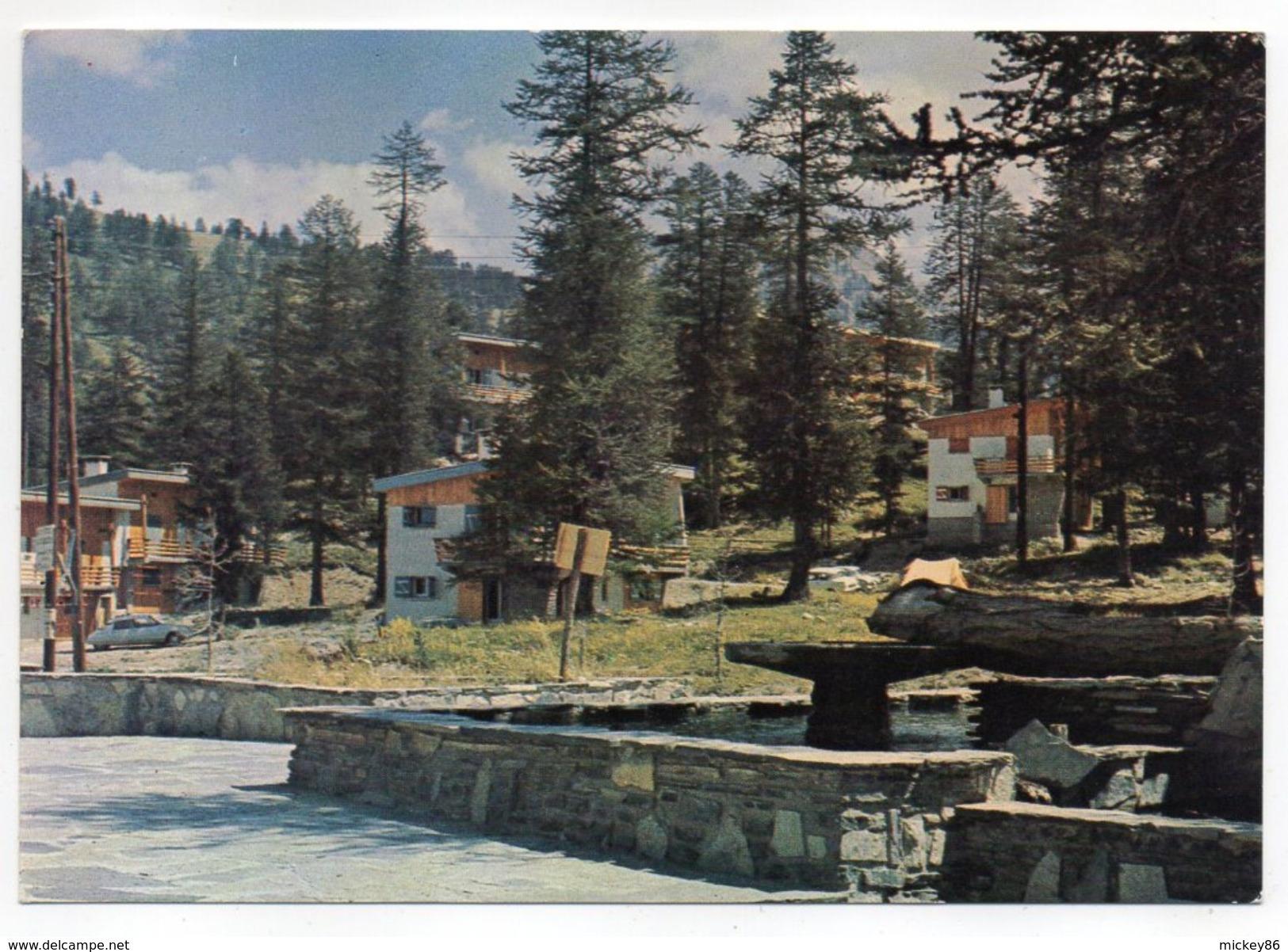 VARS LES CLAUX--1966--Les Chalets  (l'été)--voiture Citroen DS (à Gauche)........à  Saisir - France
