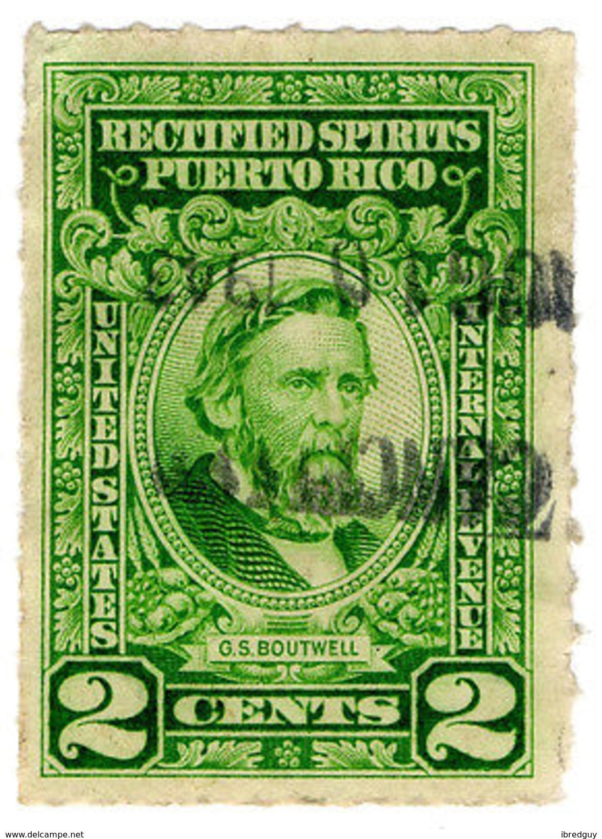 (I.B) Puerto Rico Revenue : Rectified Spirits 2c - Unclassified