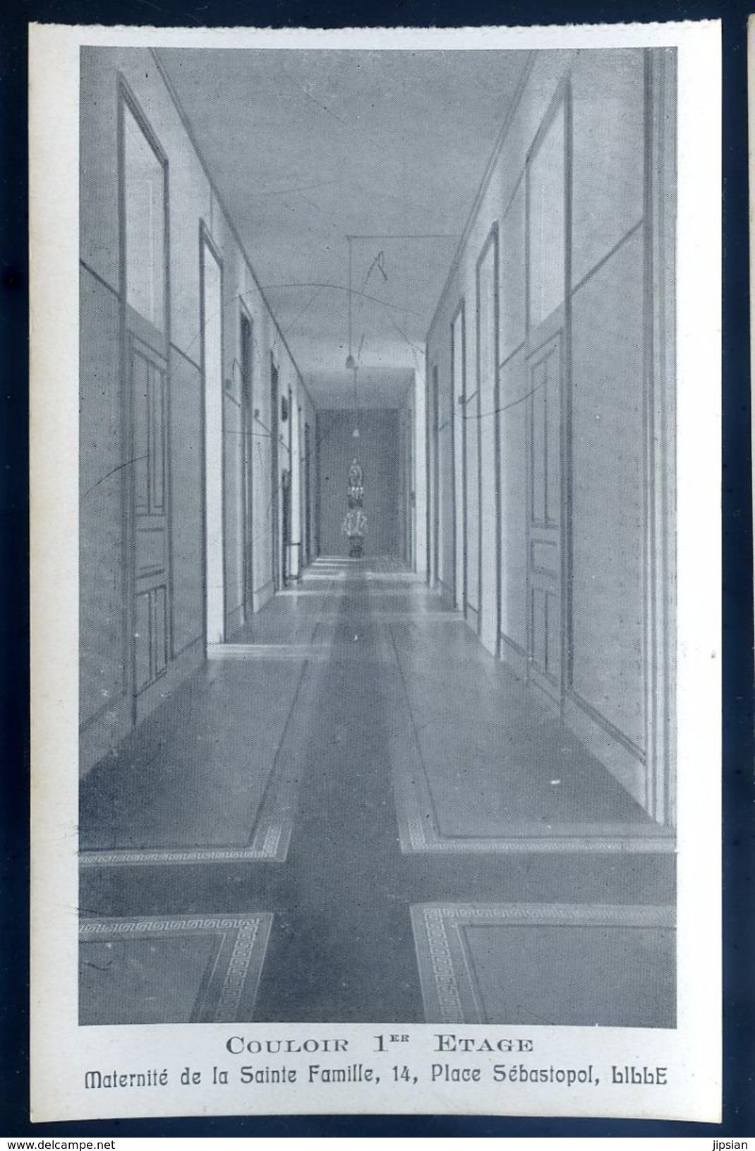 Cpa Du 59 Lille Maternité De La Sainte Famille 14 , Place Sébastopol -- Couloir 1er étage     SEP17-57 - Lille
