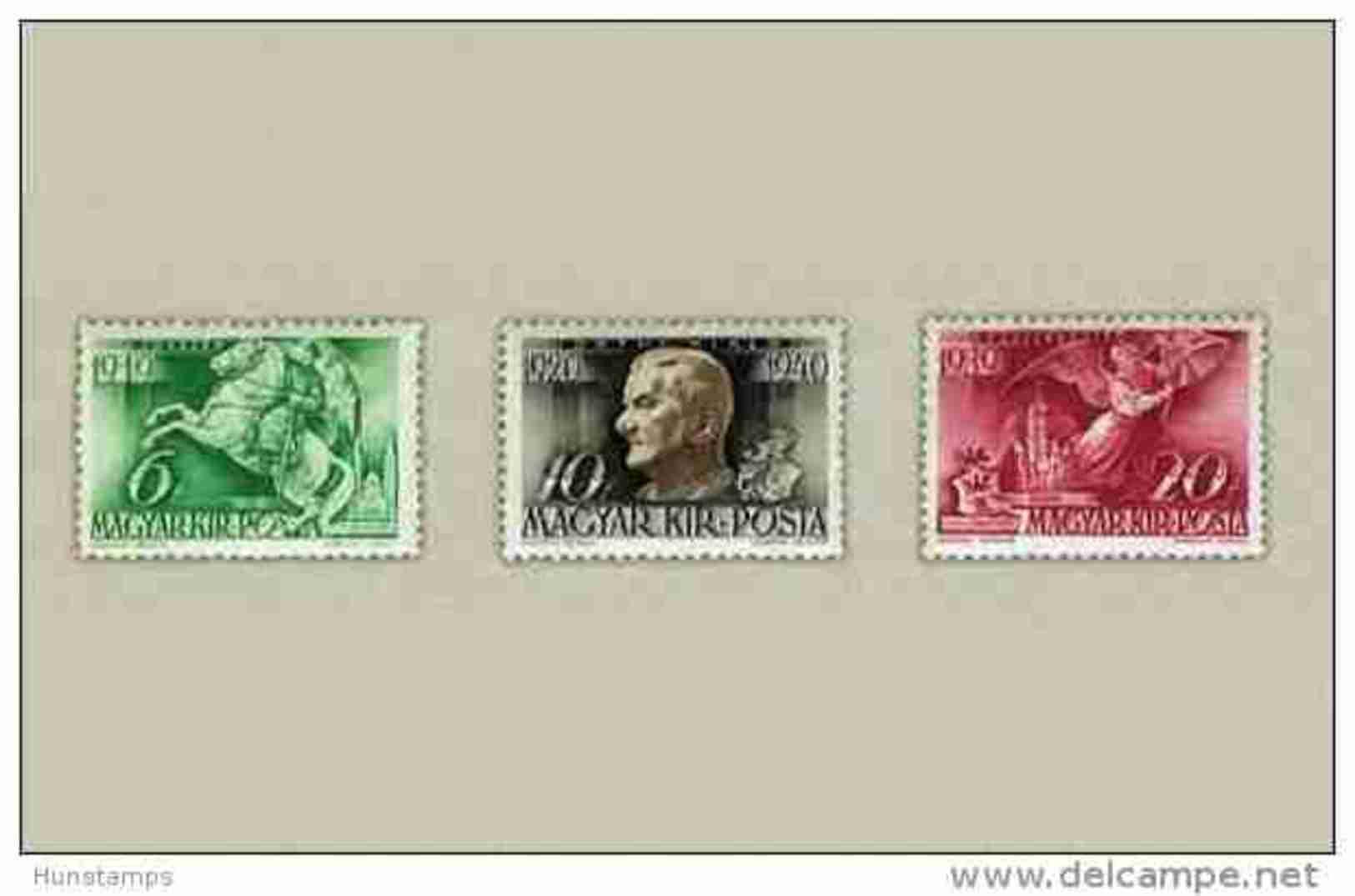 Hungary 1940. MIklos Horthy / Animals / Horses Set MNH (**) Michel: 626-628 / 1.50 EUR - Ungarn