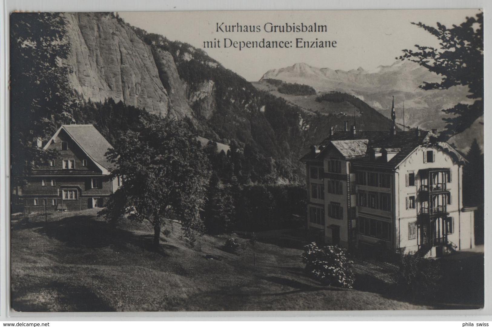 Kurhaus Grubisbalm Mit Dependance: Enziane, Ferienheim Schweiz. Eisenbahner - Photo: M. Wirth - LU Lucerne