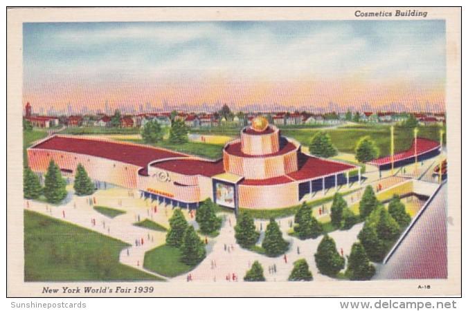 New York World's Fair 1939 The Cosmetics Building - Esposizioni