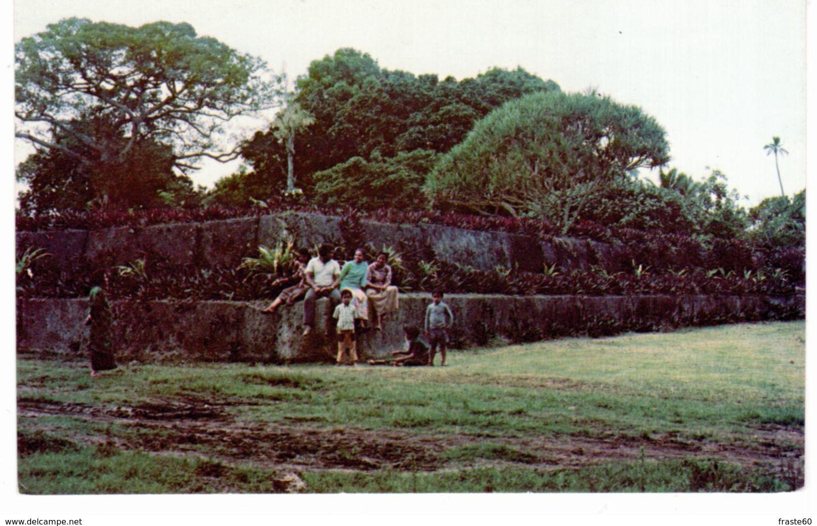 Tonga - Paepae ' O Tele'a - Tonga