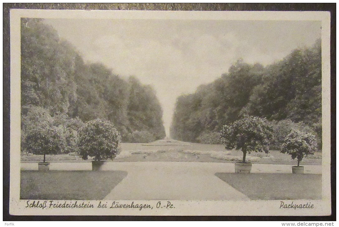 Allemagne / Deutschland - Schloss Friedrichstein Bei Löwenhagen, O.-Pc. - Packpatie - 03/07/1943 - Allemagne