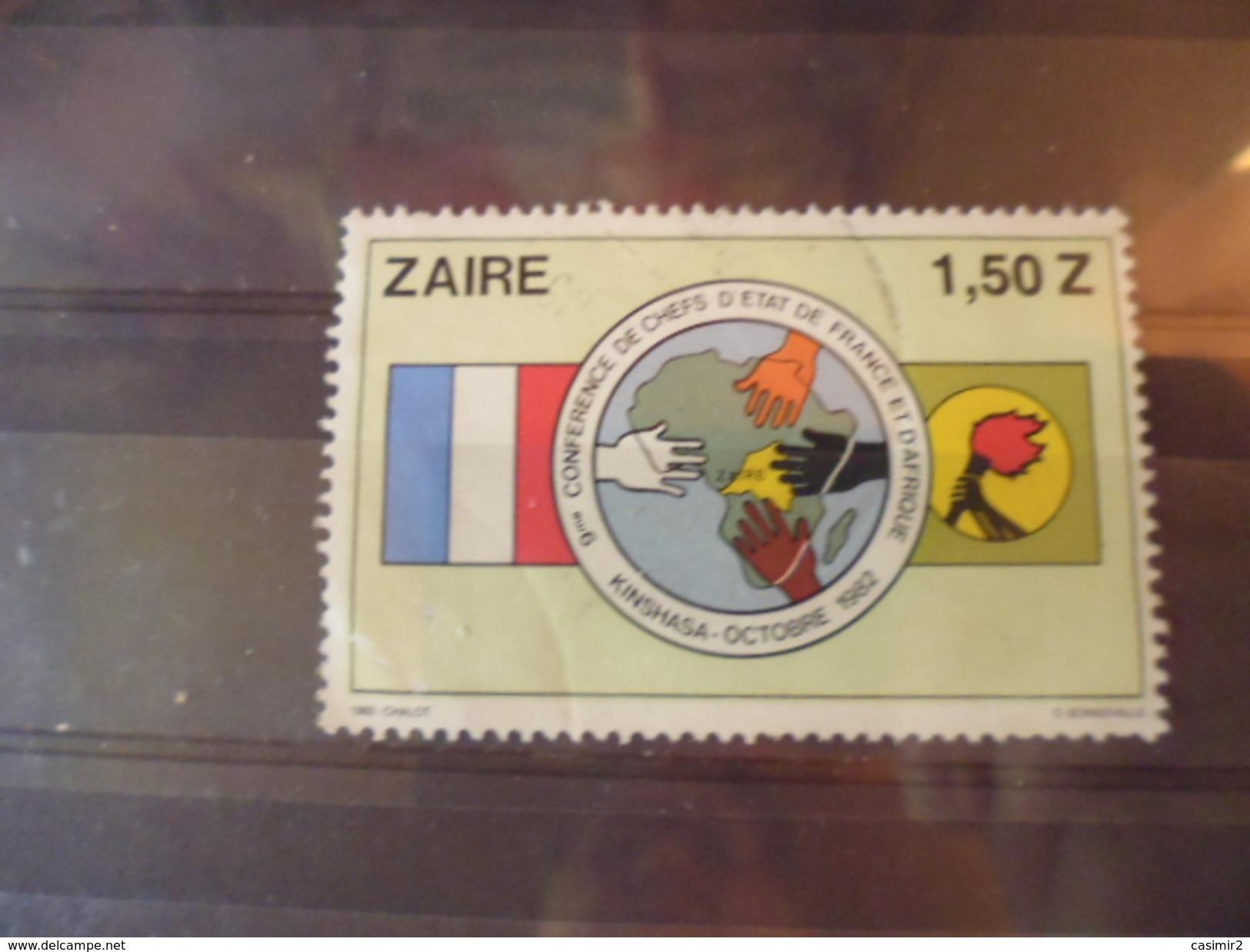 ZAIRE TIMBRE N°772 - Zaïre