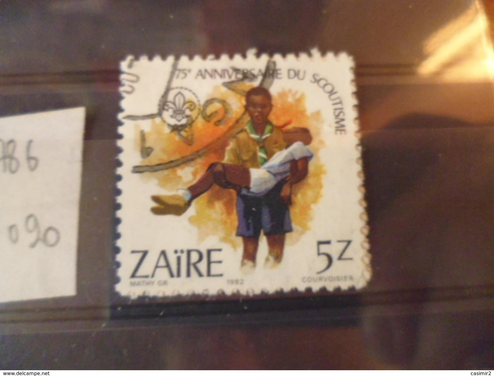 ZAIRE TIMBRE N°786 - Zaïre
