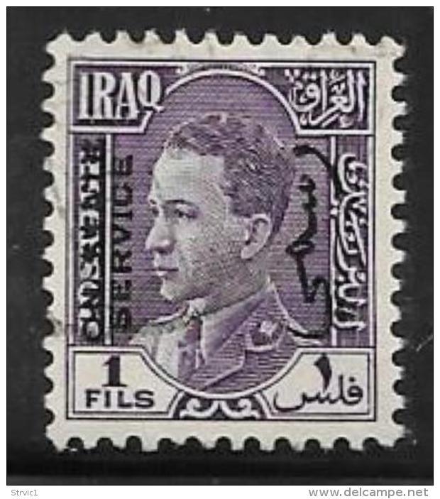 Iraq, Scott # O72 Used King, Official Overprint, 1938 - Iraq