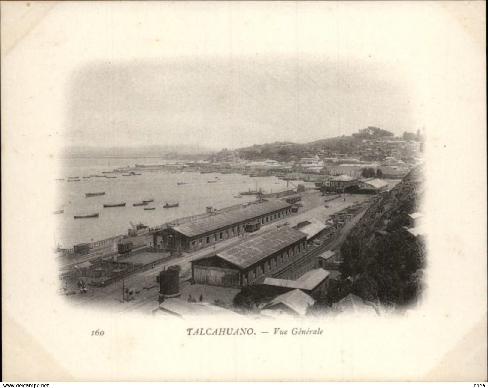 Campagne DUGUAY-TROUIN 1902-1903 - Voilier - Expédition - CHILI - TALCAHUANO - Chile