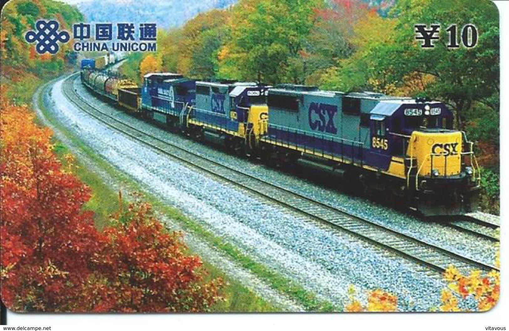 Train Trein Rail Locomotive  Télécarte Phonecard  (D.206) - Trains