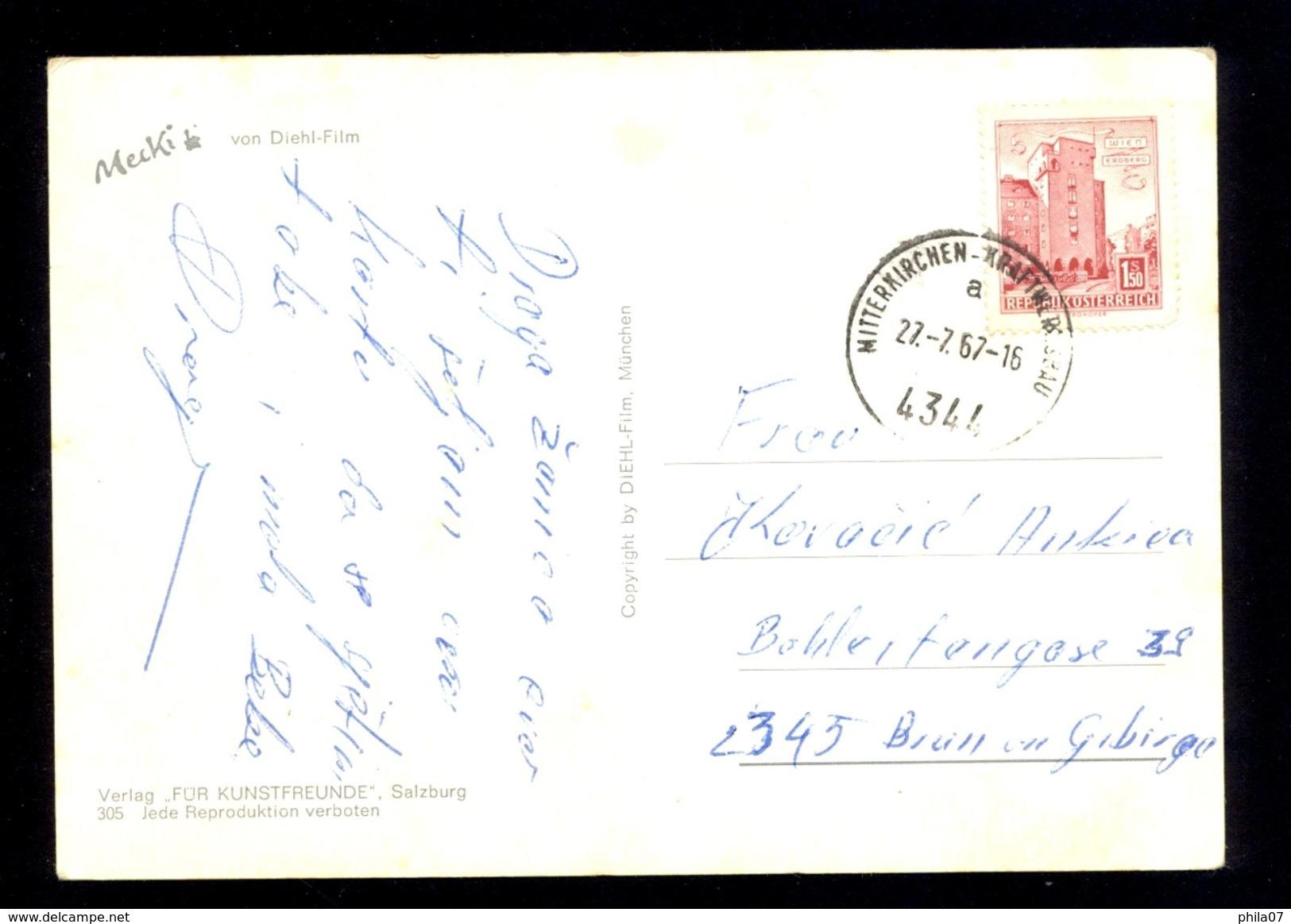Wohl Behutet - Von Diehl-Film / Postcard Circulated, 2 Scans - Mecki