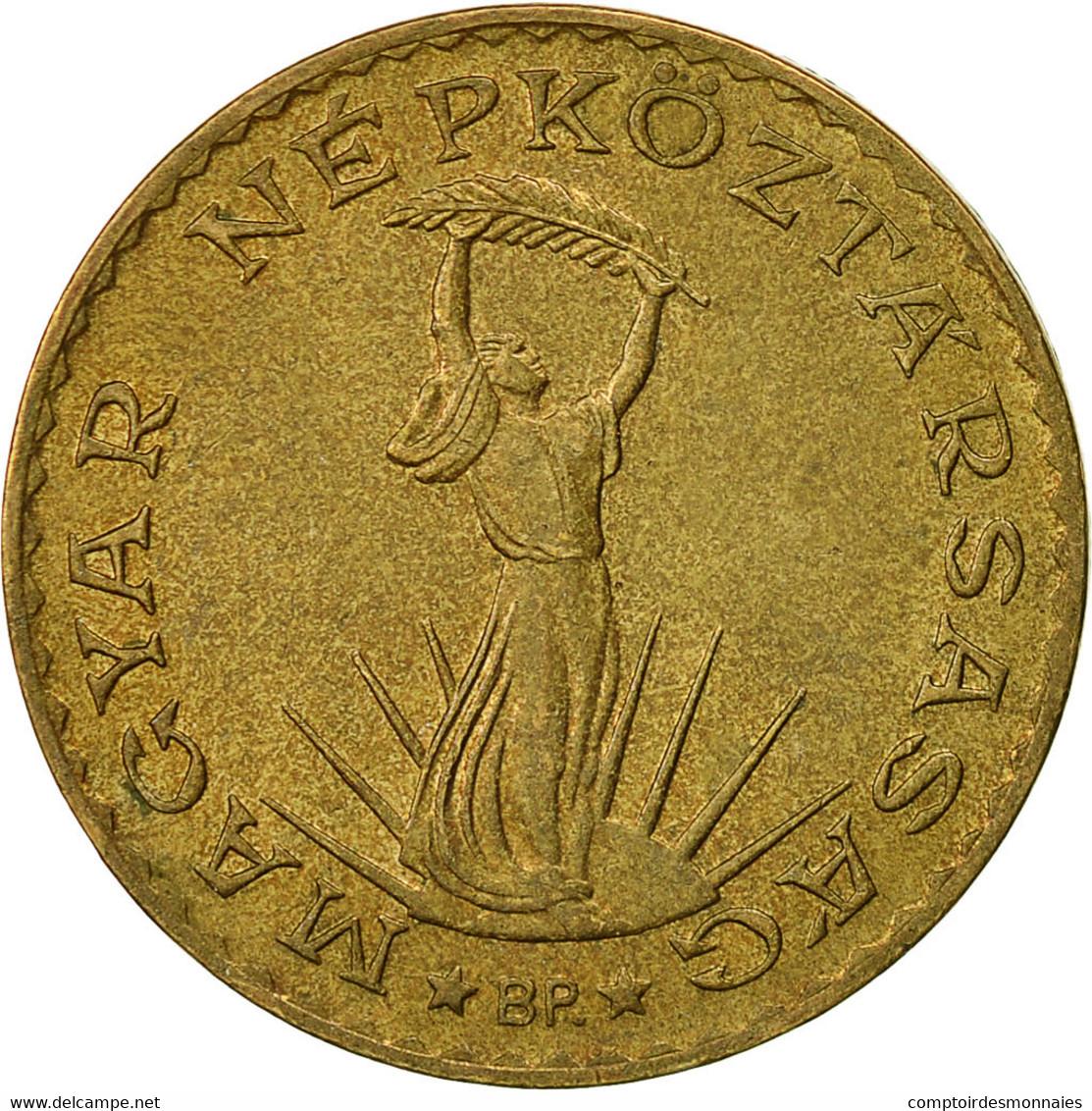 Hongrie, 10 Forint, 1989, Budapest, TTB, Aluminum-Bronze, KM:636 - Hongrie