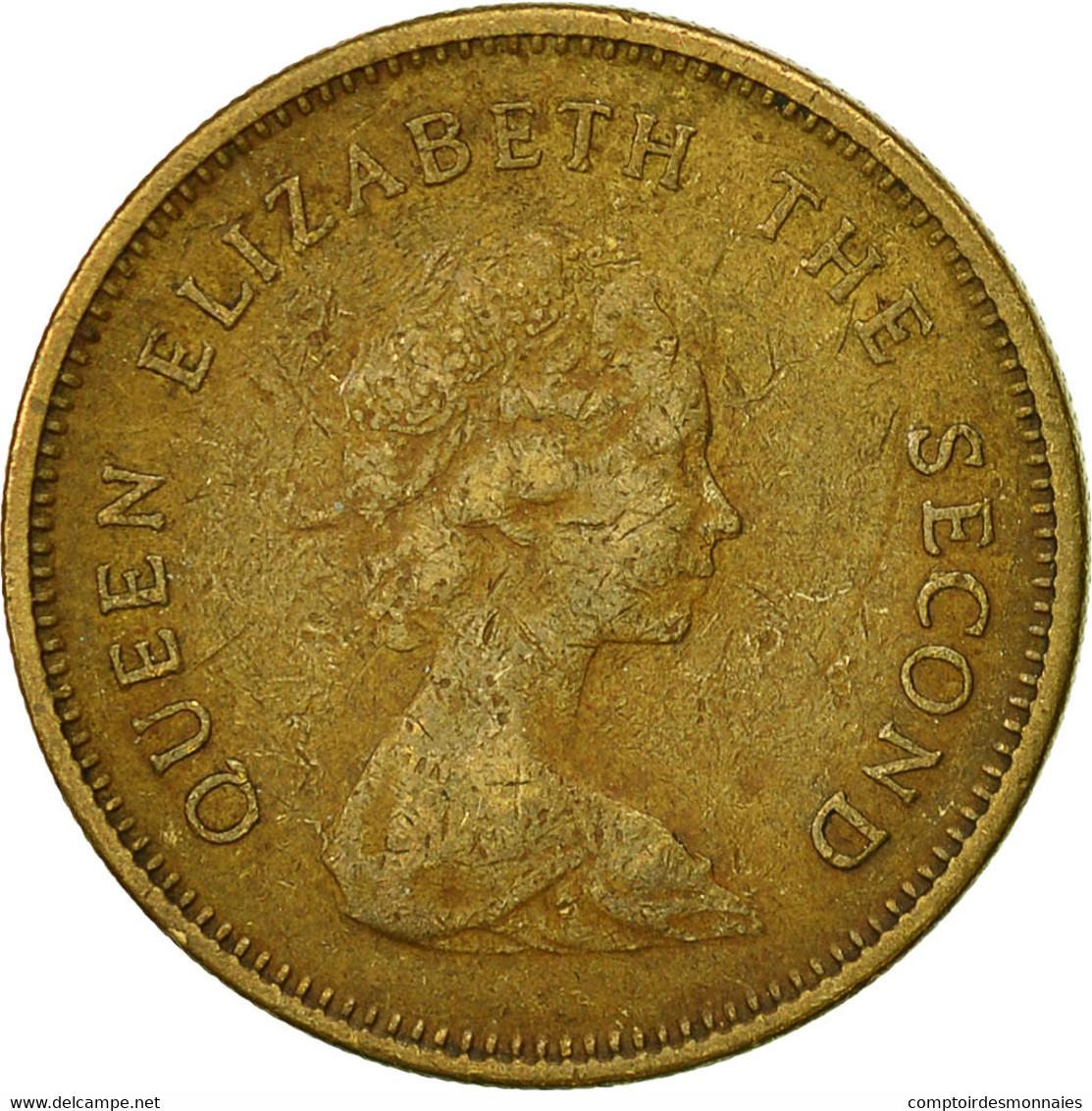 Hong Kong, Elizabeth II, 50 Cents, 1979, TB+, Nickel-brass, KM:41 - Hong Kong