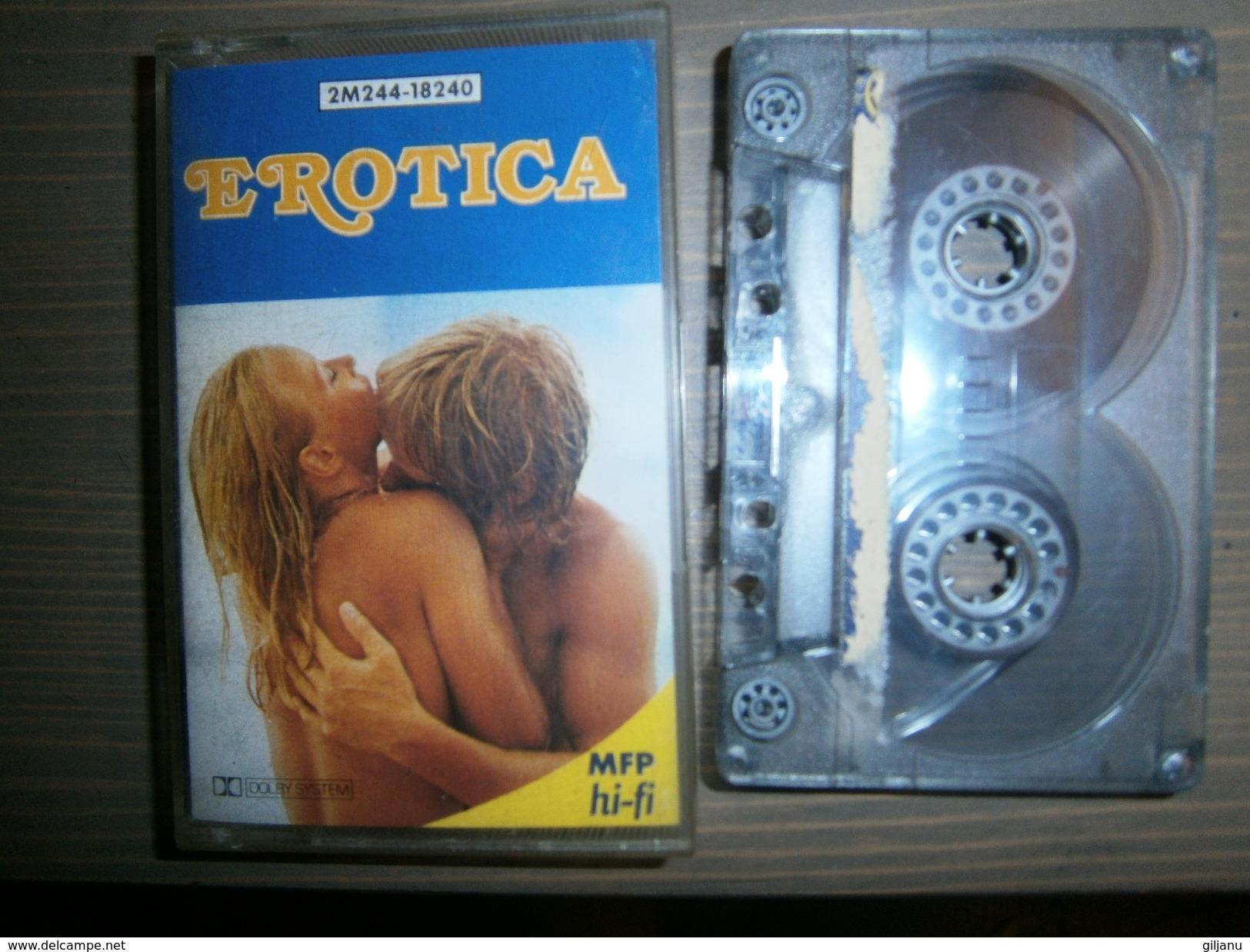 CASSETTE AUDIO  EROTICA - Audiokassetten