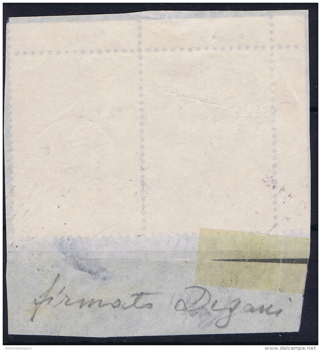 Italy: CEFALONIA E ITACA Sa 31 Used On Fragment Signed/ Signé/signiert/ Approvato - 9. Besetzung 2. WK (Italien)