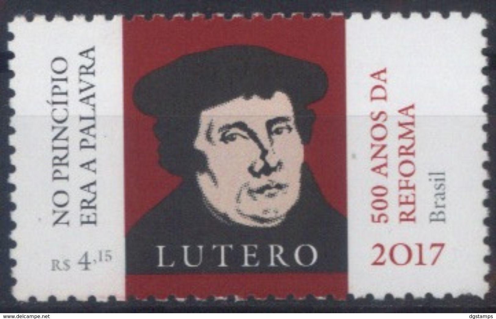 Brasil 2017 ** 500 Años De La Reforma Luterana. See Desc. - Brazil