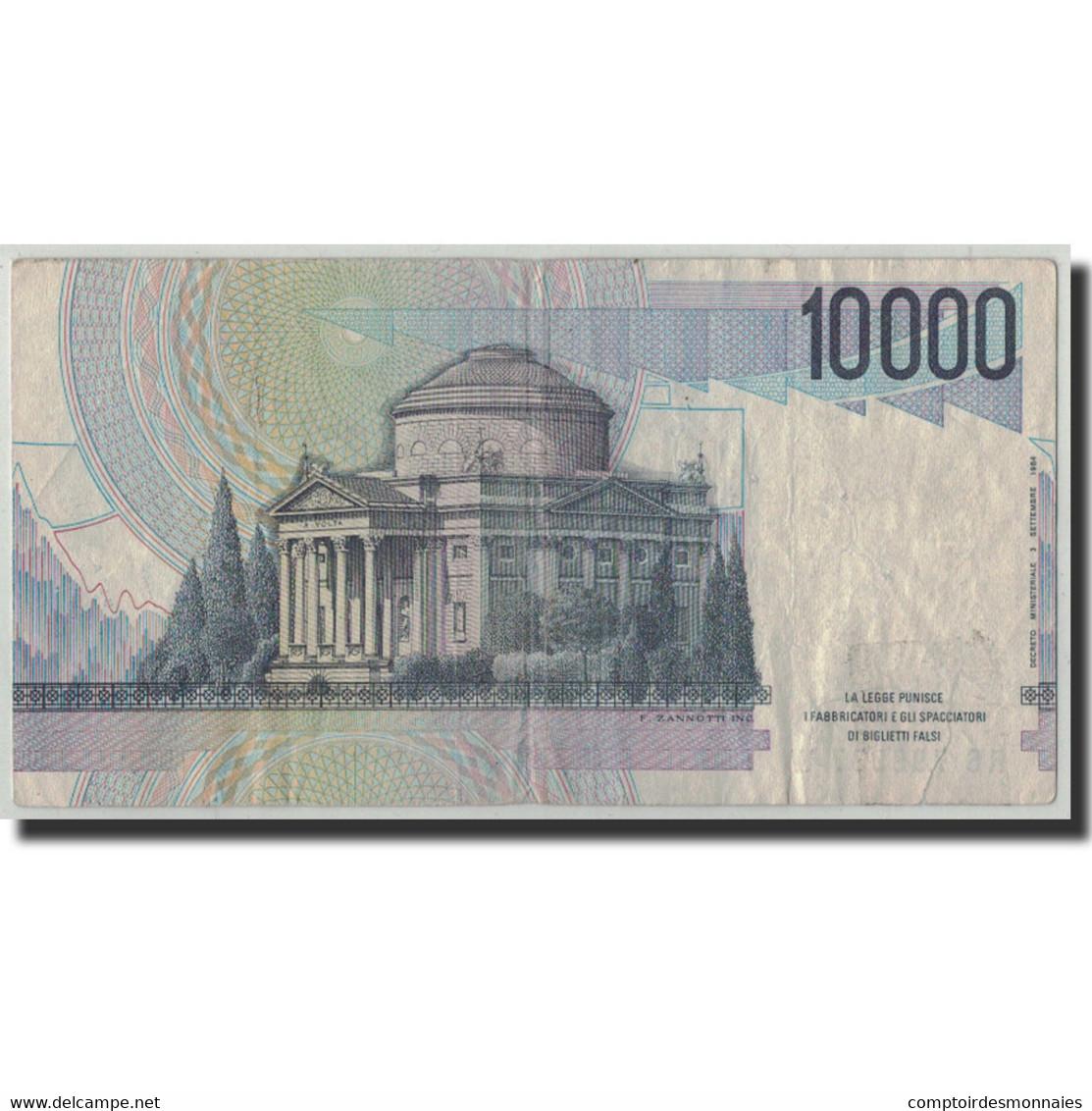 Italie, 10,000 Lire, 1984, KM:112c, 1984-09-03, TB - 10000 Lire