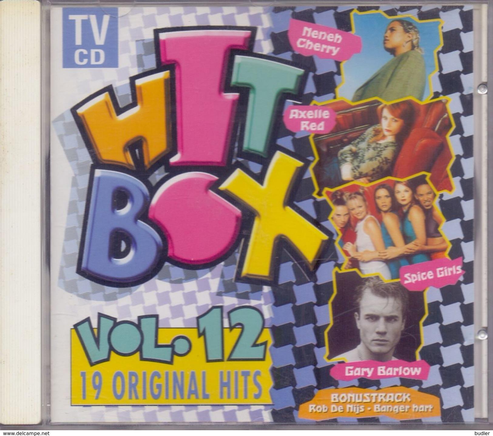 HIT BOX – Vol. 12 Met O.a. Queen, Kamiel Spiessens, Get Ready, Axelle Red,  Backstreet Boys, George Michael, Clouseau,.. - Musik & Instrumente