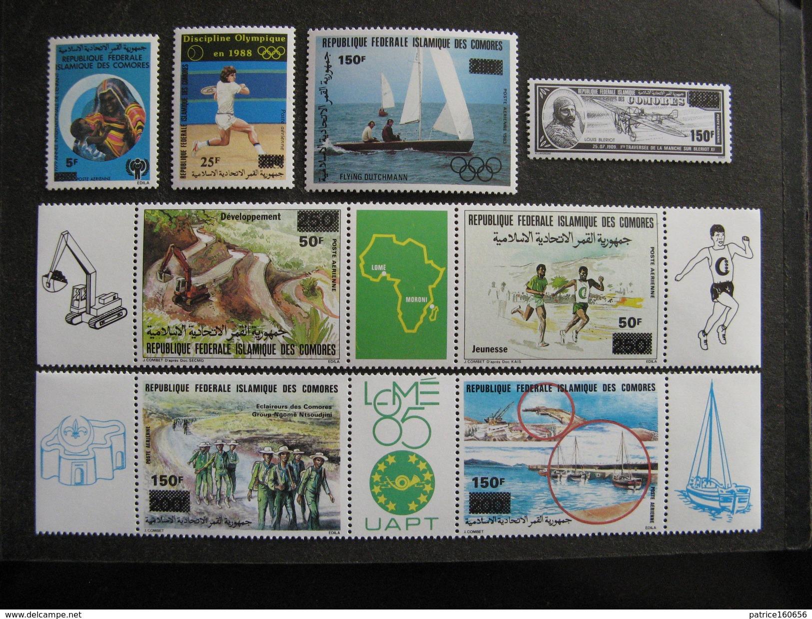 Comores: TB Série PA N° 277 Au N°284 Neufs XX. - Comores (1975-...)