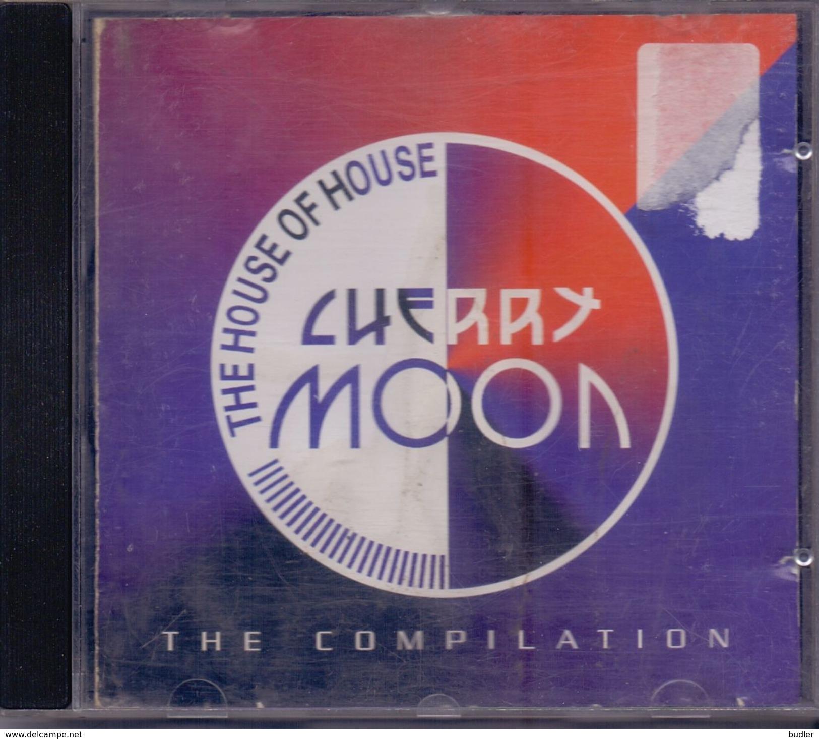 CHERRY MOON – The Compilation Met O.a. Secret Cinema, Robert Armani,  The Ultimate Seduction, The Navigator, ... - Compilaties