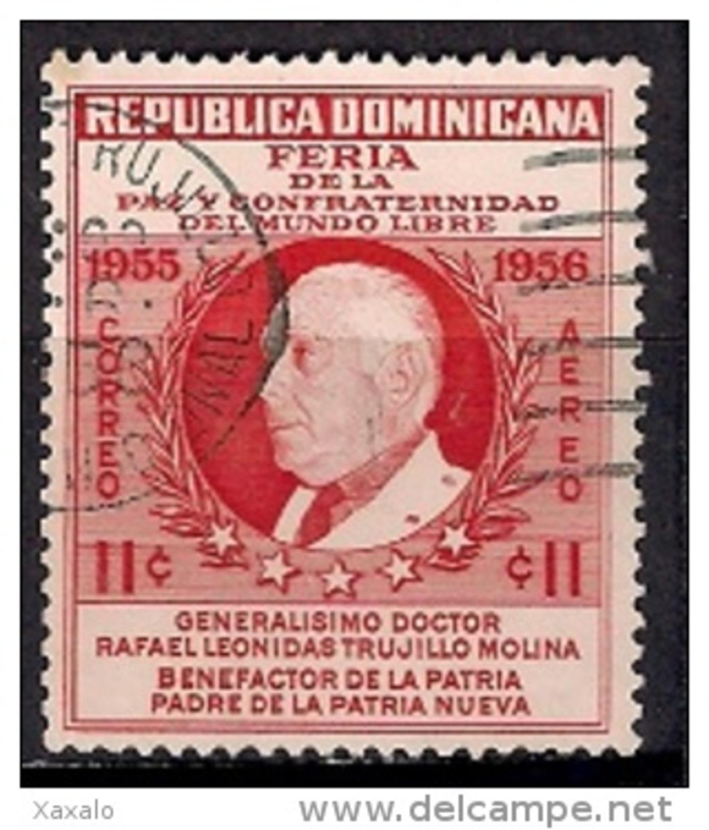 Dominicana 1955 -  Peace And Brotherhood Fair, Ciudad Trujillo Used - Dominican Republic