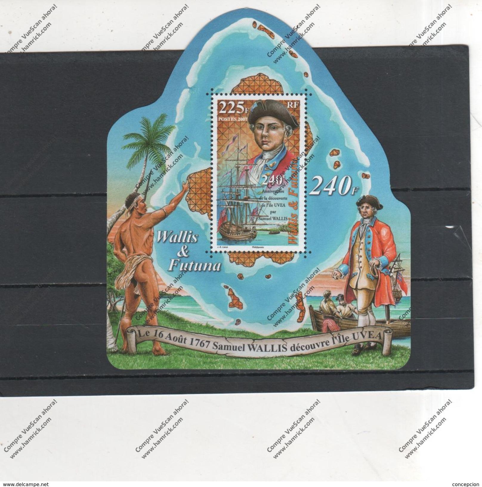 Wallis Et Futuna Nº  Año 2007 - Wallis-Et-Futuna