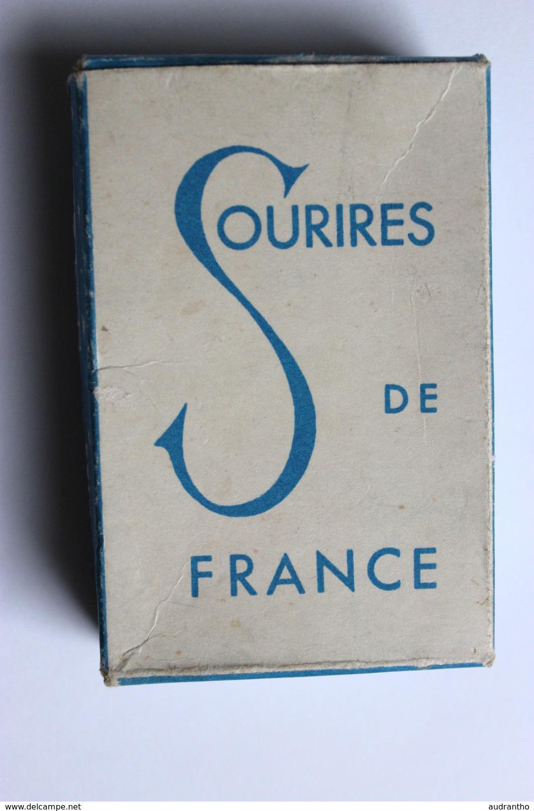 Carte à Jouer érotique Juan Les Pins Pin Up Sourires De France Belotte Tierce - Cartes à Jouer