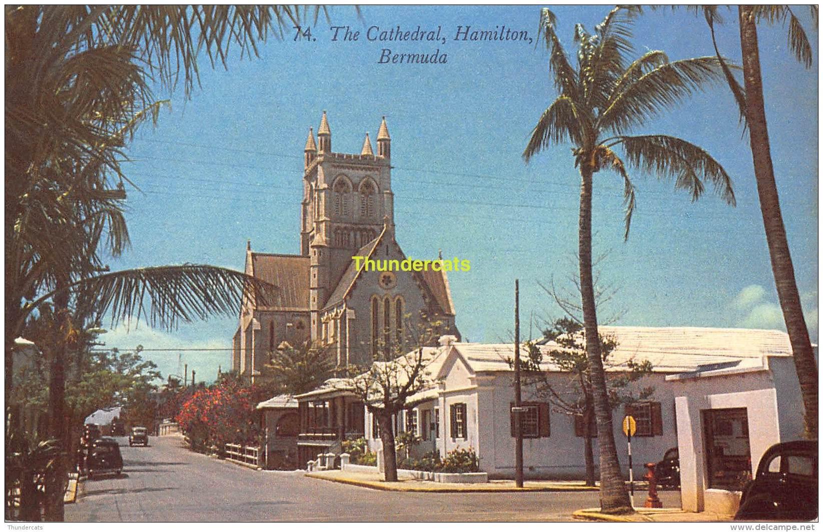 CPSM BERMUDA  THE CATHEDRAL HAMILTON - Bermuda