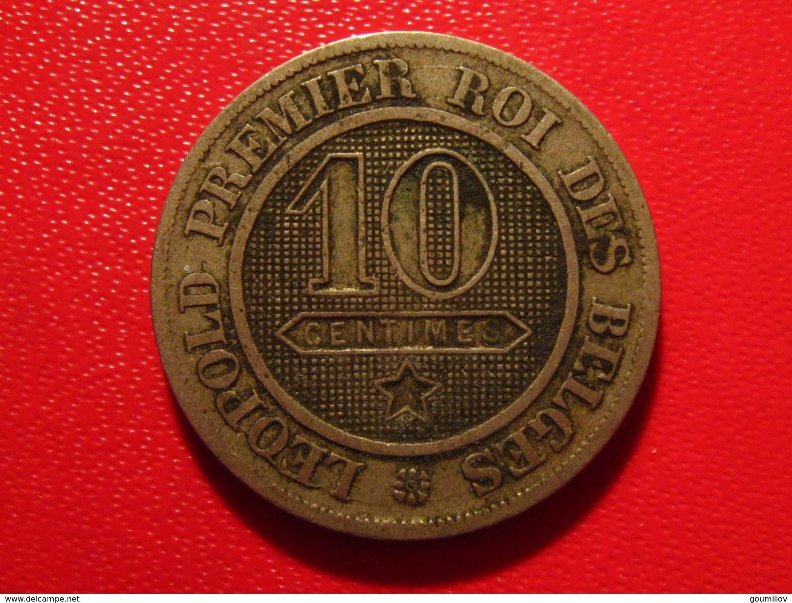 Belgique - 10 Centimes 1862 Leopold Roi Des Belges 3087 - 1831-1865: Léopold I